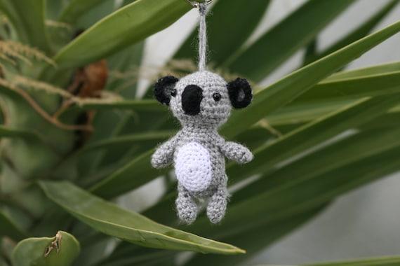 Amigurumi Eyes Australia : Koala amigurumi Amigurumi Koala Key chain Koala Koala
