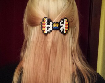 Toy Story Sheriff Woody Themed Barrette Hair clip Bow