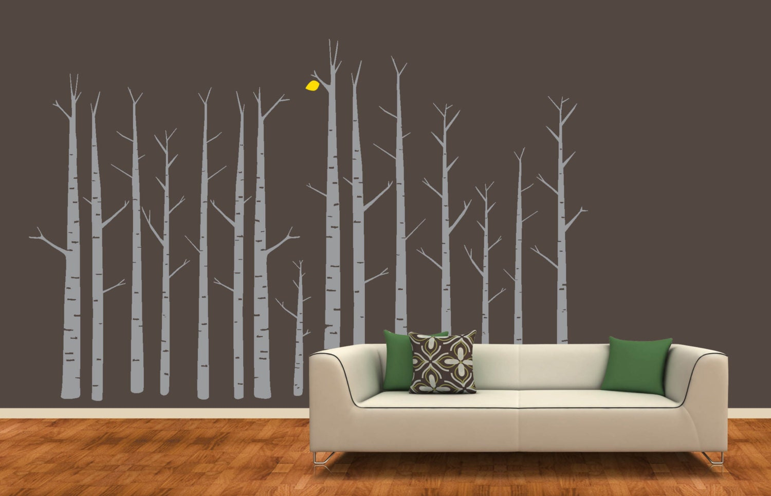 Birch Tree Forest Wall Decal Custom Orders Too