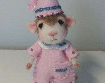 Needle Felted Mouse Halo - Made to Order
