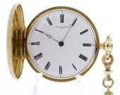 18K Vacheron et Constantin Geneve Pocket Watch Key Wind