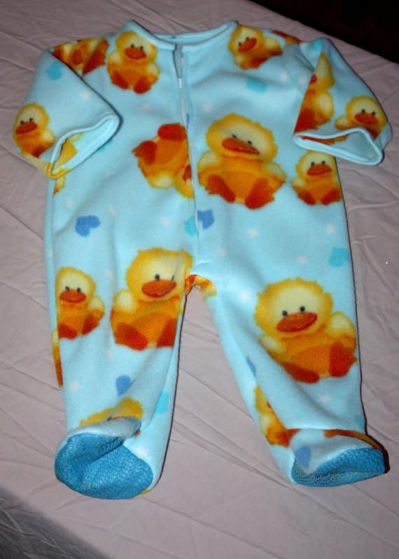 Warm and Fuzzy Footie Pajamas
