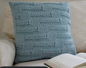Knit Blanket Pattern Super Bulky : Blanket KNITTING PATTERN / Throw / Cable Knit / Super Bulky