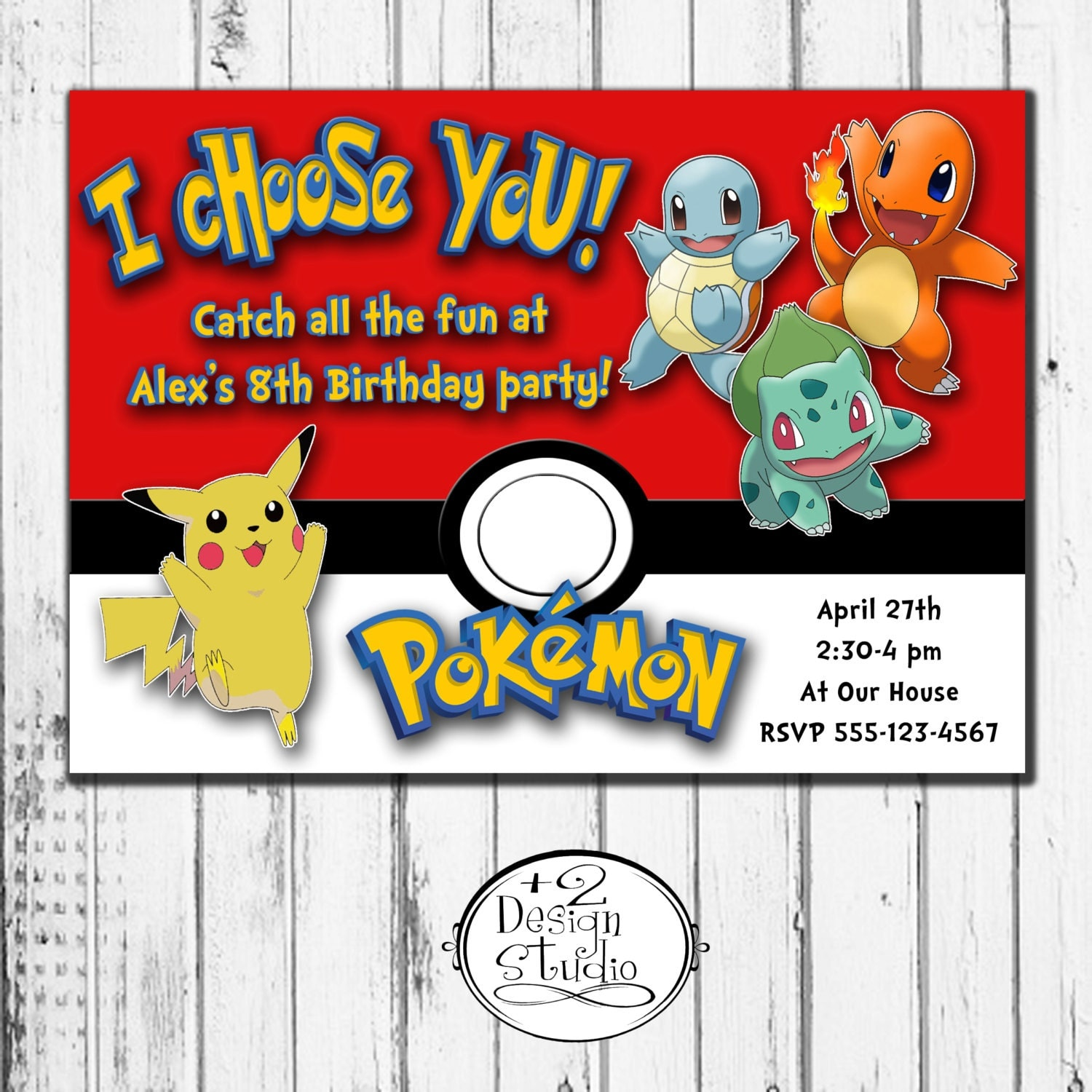It is an image of Smart Pokemon Invitations Printable Free