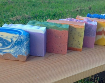 5 Handcrafted Soaps - You Pick