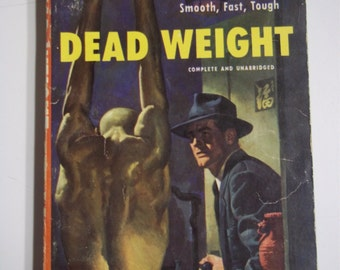 Dead Weight by Frank Kane Dell #665 1951