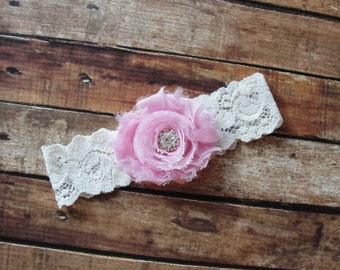 Bridal Garter, Custom Garter, Garter for Wedding, Garter Belt, Flower Garter, Pink Garter, Lace Garter, Garter Wedding, Garter Belt
