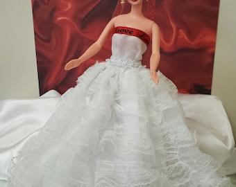 Barbie Valentine Wedding Gown