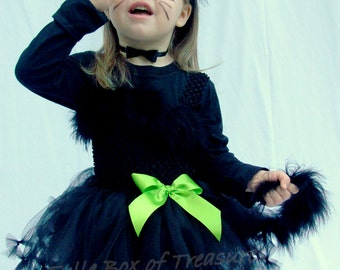 Pretty Kitty Black Cat Tutu Costume