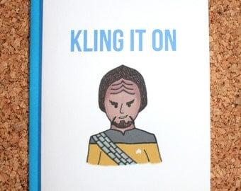 Star Trek Card / Picard tea earl grey hot / Birthday card