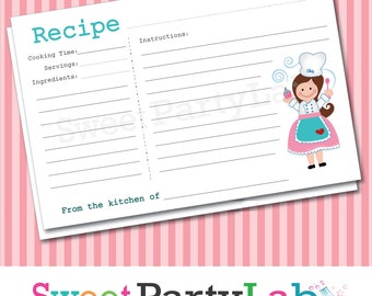 Popular items for cute recipe cards on Etsy