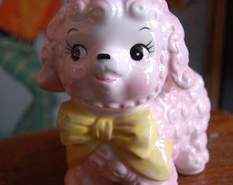 Sweet Vintage Baby Lamb Planter