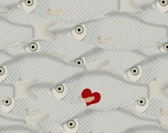 Valentine's Day Fish Printable Card