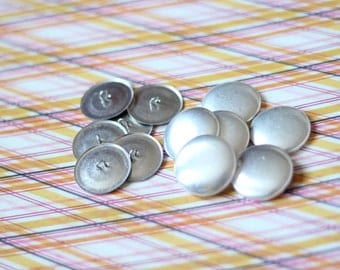 """500 Wire Back Cover Buttons Size 45 Fabric Covered Buttons WIREBACK 1 & 1/8"""" // FREE US Shipping"""