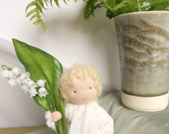 Lily of the Valley Flower Child for the Nature Table of Spring
