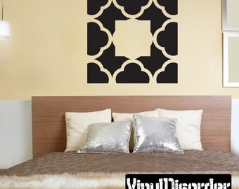 Wall Pattern Vinyl Wall Decal Or Car Sticker - Mvd007ET