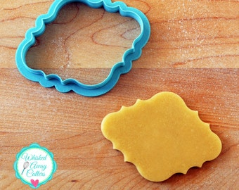 The Michelle Plaque Cookie Cutter