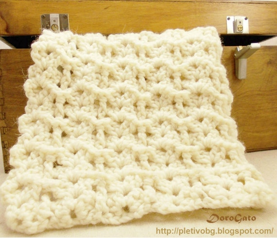 Tutorial crochet blanket Easy Crochet Baby Blanket by ...