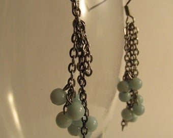3102 -Earrings Amazonite