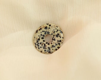 Donut - Dalmatian Jasper - gemstone jewelry