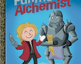 "Fullmetal Alchemist ""Little Golden Manga"" Print 10x12"
