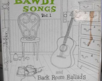 Oscar Brand, Bawdy Songs and Other Back Room Ballads, Vol. 1, Vintage Record Album, Vinyl LP, Comedy, Folk Music