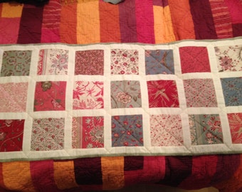 Beautiful quilted patchwork Table Runner