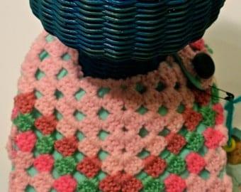 Granny Chic Crochet Bib
