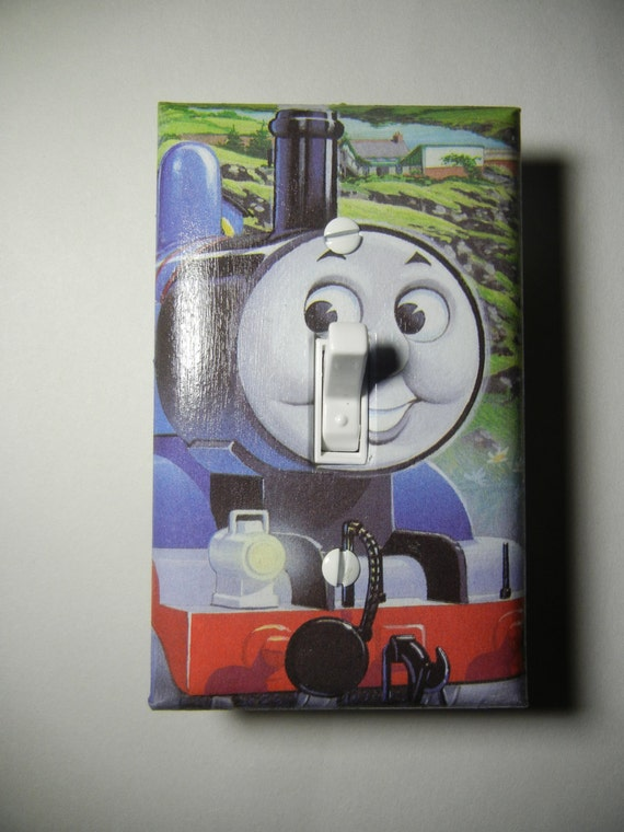 Thomas The Tank Engine Light Switch Plate Cover By