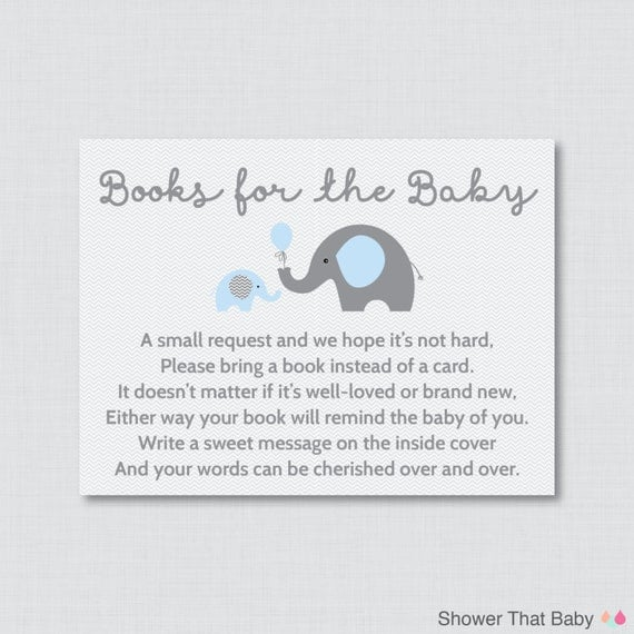 Dashing image regarding bring a book instead of a card printable