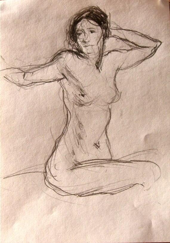 голая рисунок