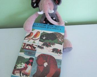 Le livre d'or des histoires d'animaux from Alan Jessett - Vintage French Children Book