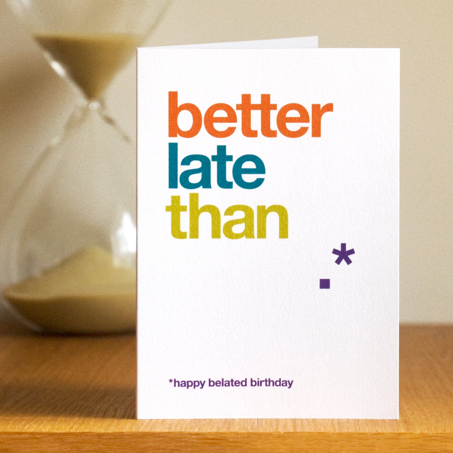 Belated Birthday Card Funny Late Birthday Card Witty – Birthday Cards Next Day Delivery