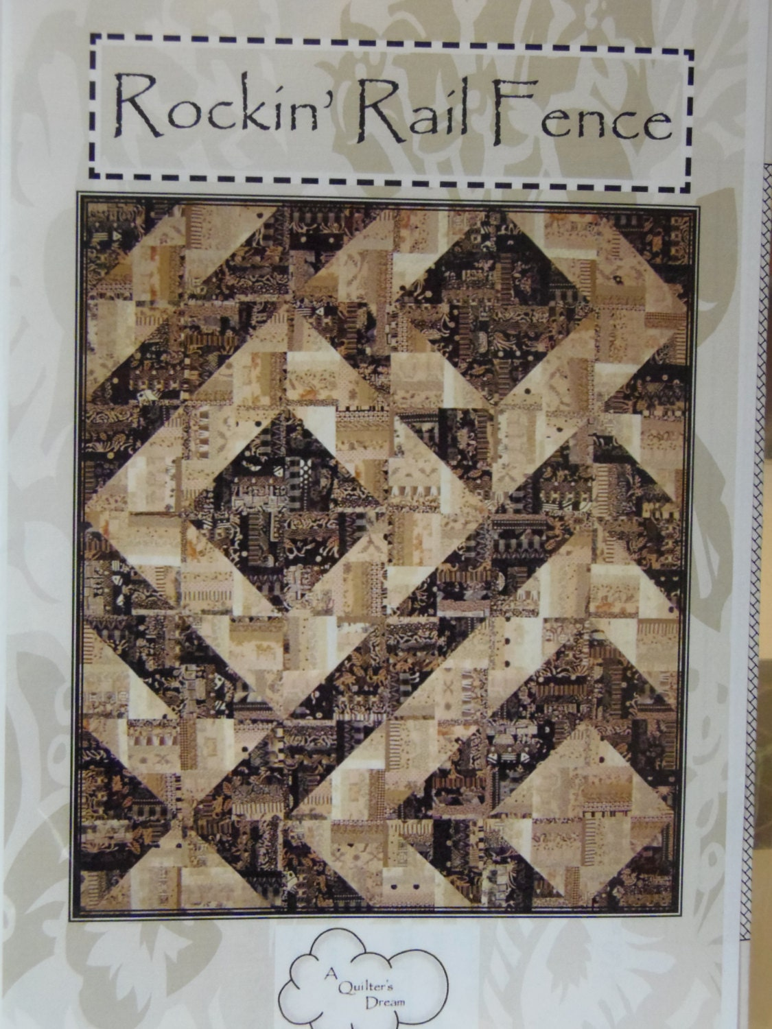 Rockin Rail Fence Quilt Pattern By A Quilter S By