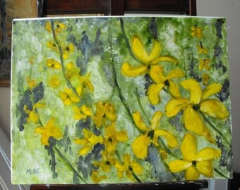 Yellow Flowers of Spring