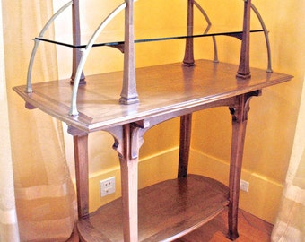 Antique French Art Noveau Display/Etagere