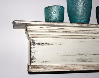 Mantel Shelf from Barn Wood - French Country Cottage