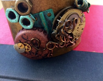Steam Punk Inspired Cuff