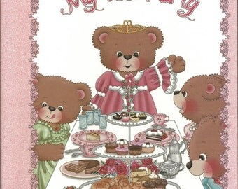 Personalized Children's Book:  My Tea Party