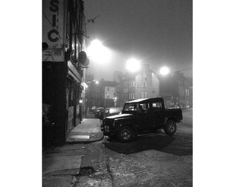 night pictures, irish photography, black and white prints, black and white photography, wall art, night photography, black and white art