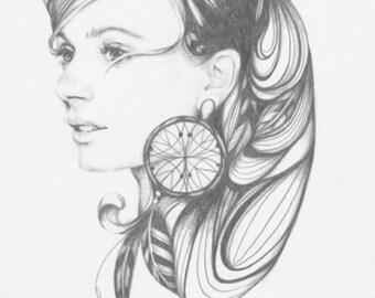 Dreamcatcher - Fine Art Print