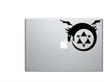 Full Metal Alchemist Ouroboros Vinyl Decal for Macbook/Car
