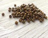 Toho Japanese glass seed  beads size 6 sunshine yellow picasso