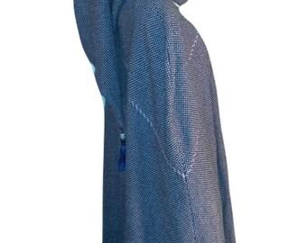 Long Wool Cloak Cape Renaissance Medieval Handmade