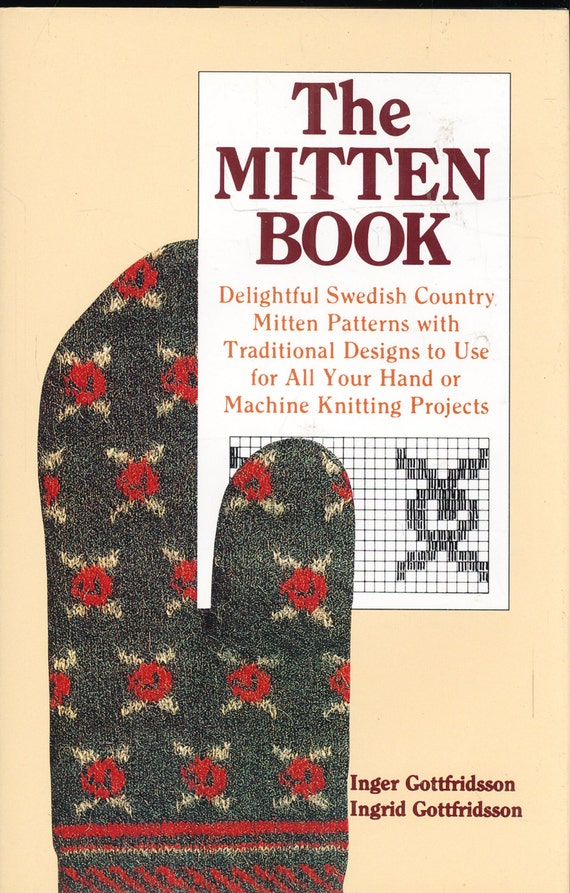 Knitting MITTEN BOOK Swedish Country Mitten Patterns