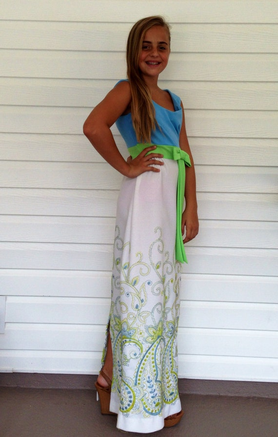 Vintage Toni Todd Maxi DressSseventies Maxi Dress