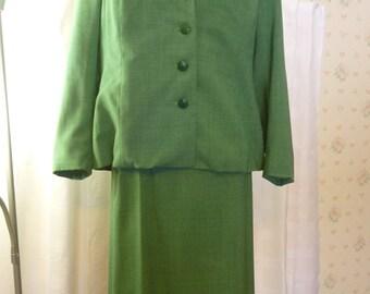 Vintage 1948 Adult Leader Girl Scout Suit, Large