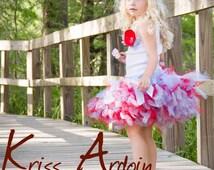 Baby Girls Birthday Tutu Dress Outfit  Wizard of OZ Dress Birthday Tutu Set