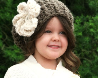 CROCHET PATTERN-The Odellia Slouchy (Toddler, Child, Adult sizes)