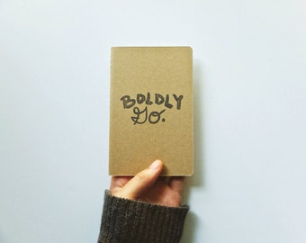 The Boldly Go Notebook